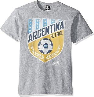 af23ec416e5 Amazon.com  Argentinian Football 2018 T-Shirt - Argentina Soccer ...