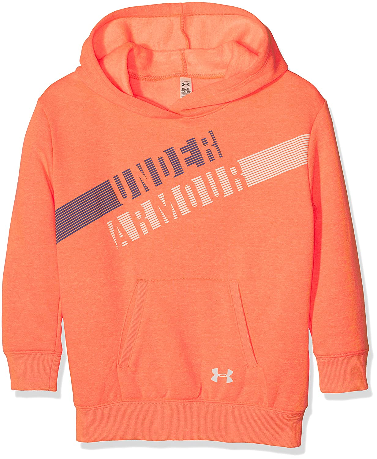 Under Armour Favorite Fleece Hoody, Felpa con Cappuccio Bambina 1289970-P
