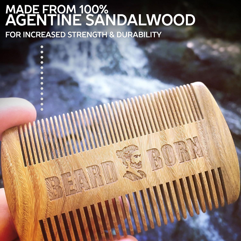 Amazon.com: Barba – Peine para barba para los hombres & Set ...