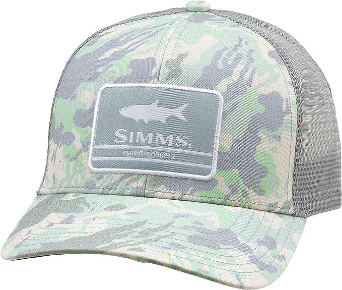 Simms - Gorra de béisbol con Parche de Lona y Parte Trasera de ...