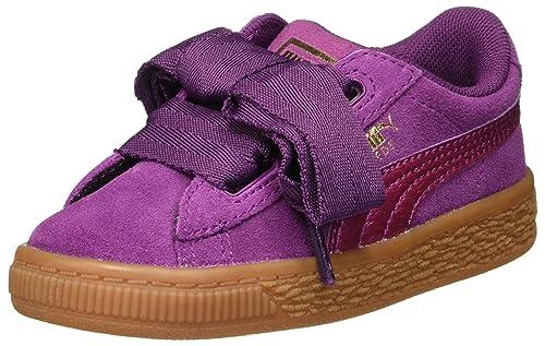 Puma - Zapatillas para Niña Morado Dark Purple/Dark Purple: Amazon.es: Zapatos y complementos