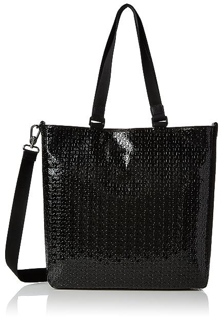 Shopping Lindsay, Womens Shoulder Bag, Negro (Black/Black), 8x34x34 cm (W x H L) Tous