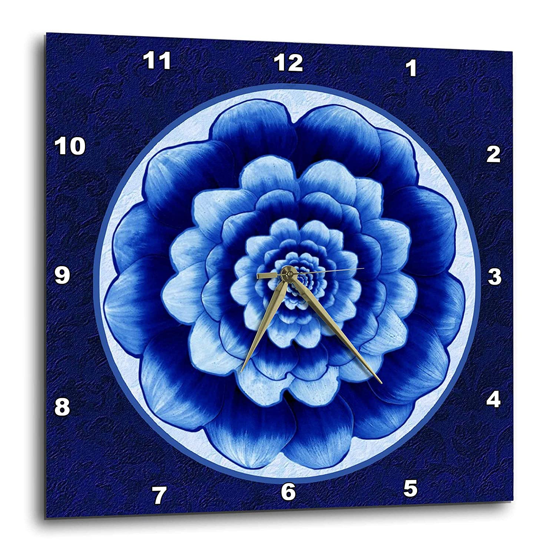 10 by 10-Inch 3dRose dpp/_69822/_1 Crystal Sculpture Detail-AB01 MGI0069-Mark Gibson-Wall Clock
