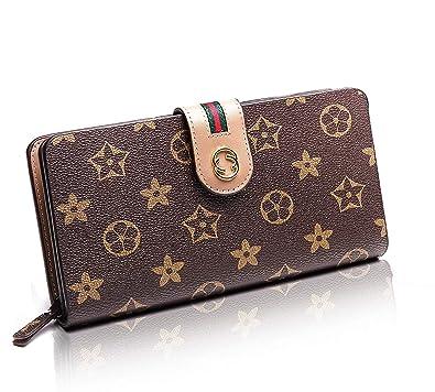 big sale ffba8 a7236 Cota's home レディース 長財布 二つ折り 財布 大容量 ウォレット おしゃれでスマートな大人の女性に 1年保証付き