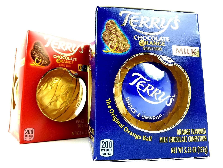 Amazon.com : Terry's Chocolate Oranges 2-Flavor Variety: Three ...