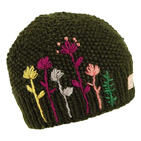 Amazon.com  Turtle Fur Karishma Nepal Hand Knit Wool Beanie Lined ... b90effd5e14