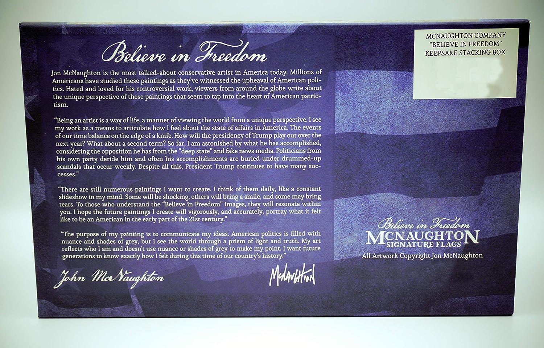 McNaughtonBelieve in Freedom Keepsake Stacking Four-Box Set
