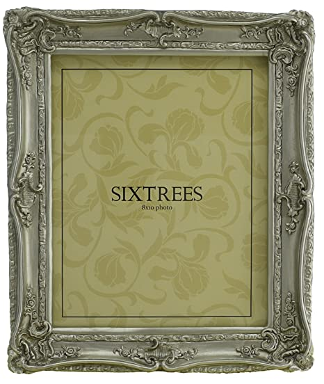Shabby Chic Style Very Ornate Silver Photo Frame For 10x8