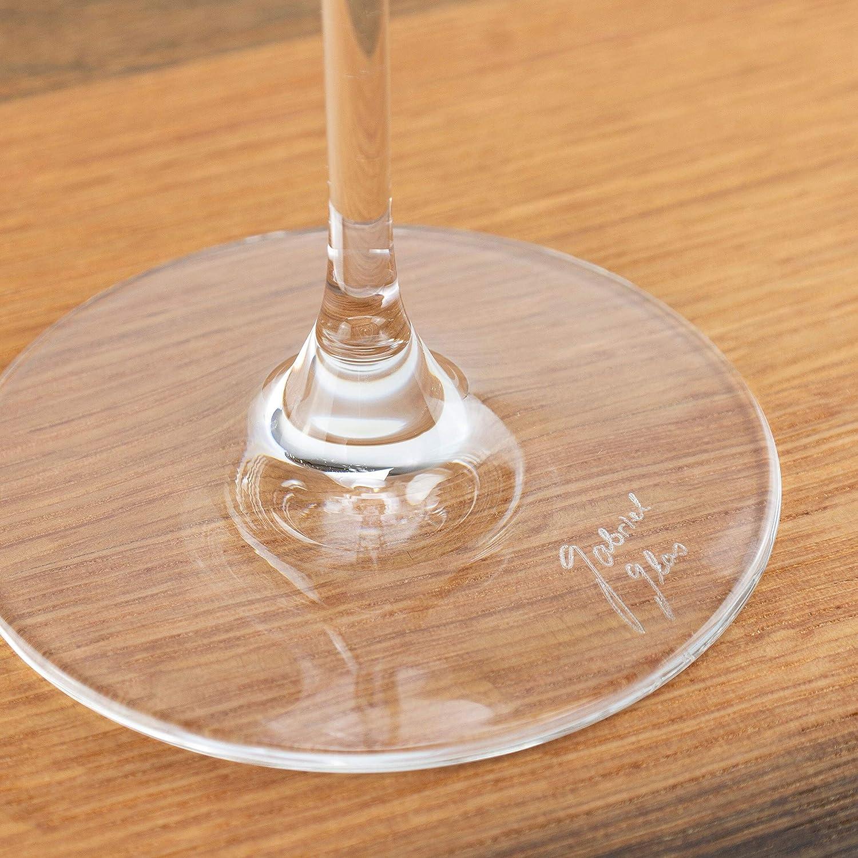 150 g Lot de 6 Verres /à vin en Verre Gabriel 6 ER Standart-Set Passe au Lave-Vaisselle Chiffon de Polissage Ultra Doux /Édition Standard