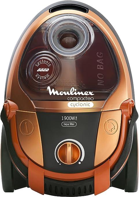 Moulinex MO454301 Compacteo - Aspirador sin bolsa (1900 W, 2 L ...