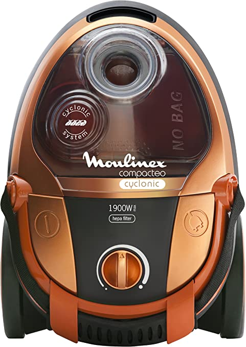 Moulinex MO454301 Compacteo - Aspirador sin bolsa (1900 W, 2 L, ciclónico): Amazon.es: Hogar