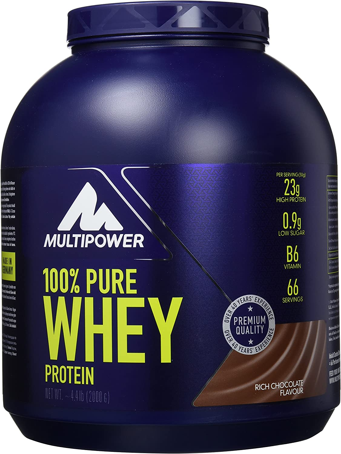 Multipower - 100 Pure Whey Protein Choco 2 Kg, color 0