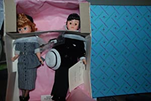 I Love Lucy Set of 2 Doll 10'' Ricky and Lucy Madame Alexander Dolls