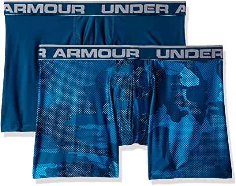 Under Armour mens Under Armour Mens O-series 6in Boxerjock 2pk Novelty