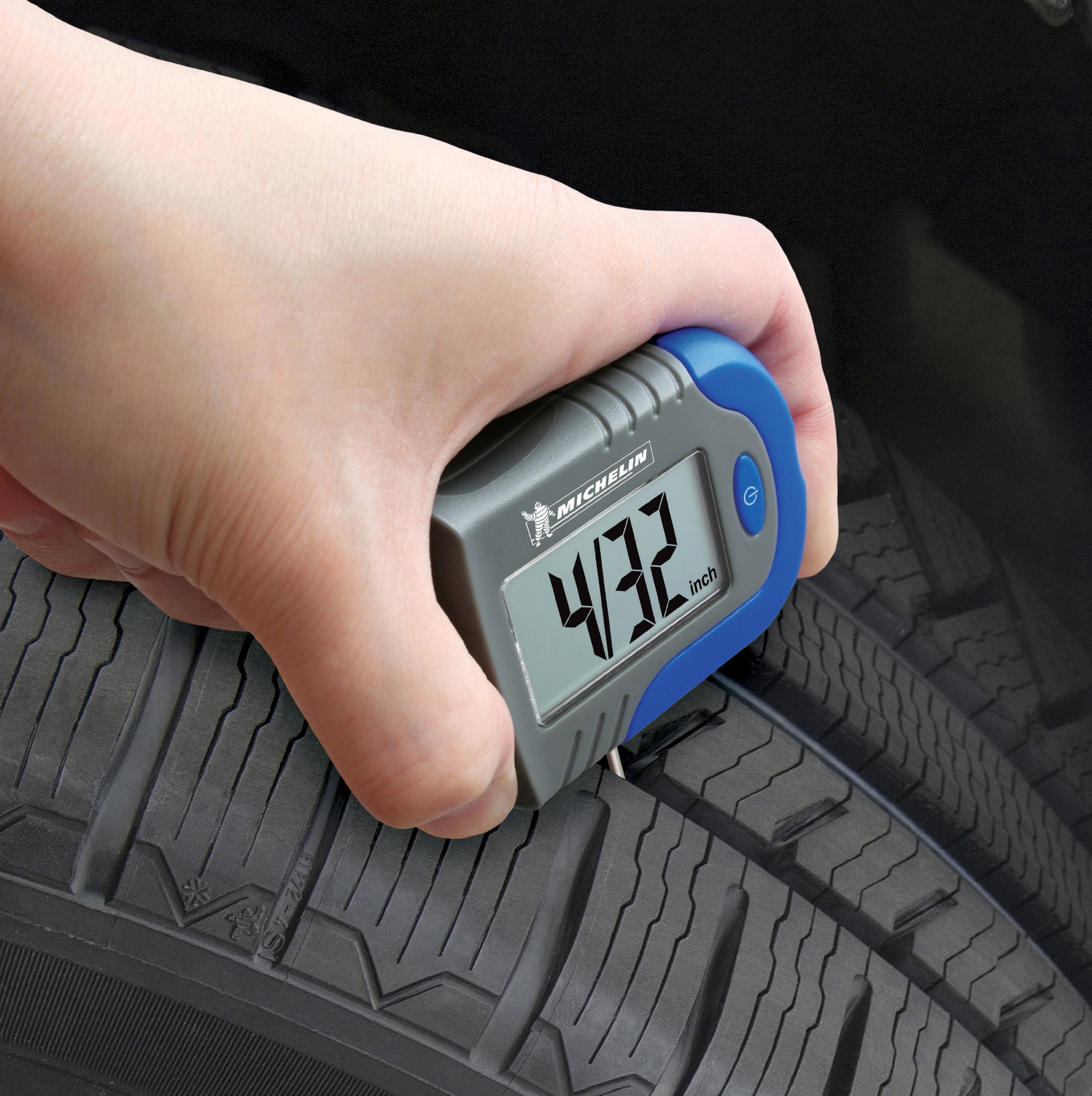 MICHELIN MN-4203B Digital Tire Gauge with Tread Depth Indicator by MICHELIN (Image #3)