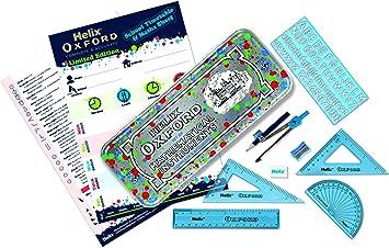 Blau Oxford 170522 Helix Splash Mathematik-Set