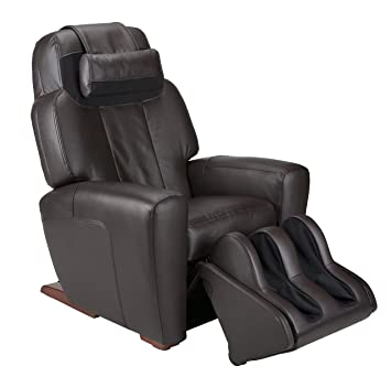 human touch acutouch 9500x premium leather fullbody massage chair recliner with rotating ottoman