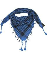 Lovarzi Keffieh Foulard Palestinien - Chic et souple écharpe pour Homme et Femme