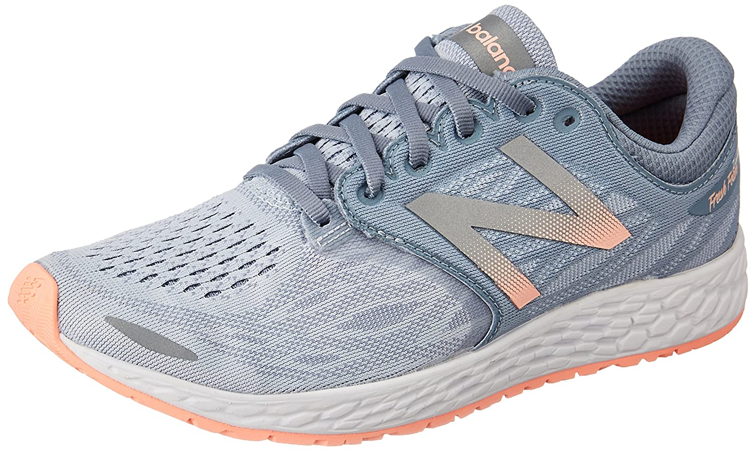 New Balance Women's Zante V3 Running-Shoes B01FSJ5KTI 6 B(M) US|Reflection/Rose Gold