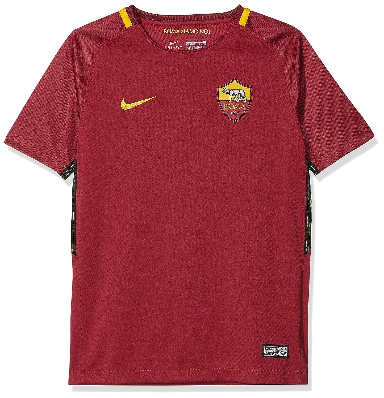 2017-2018 AS Roma Home Nike Football Shirt (Kids) B0719WCXKL LB 30-32