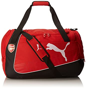 Puma 073905 01 Arsenal Medium Holdall Sports Bag 19.5 x 12.5 x 33 cm, 54