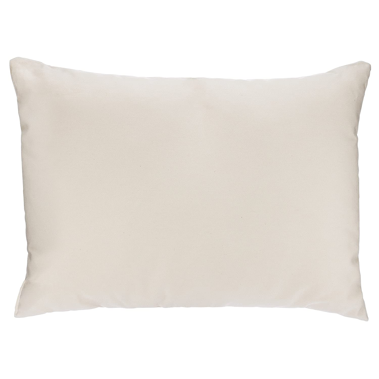 Adovely Toddler Pillow, Organic Cotton, Down-Like Fill, Ivory 13 X 18 ATP-08