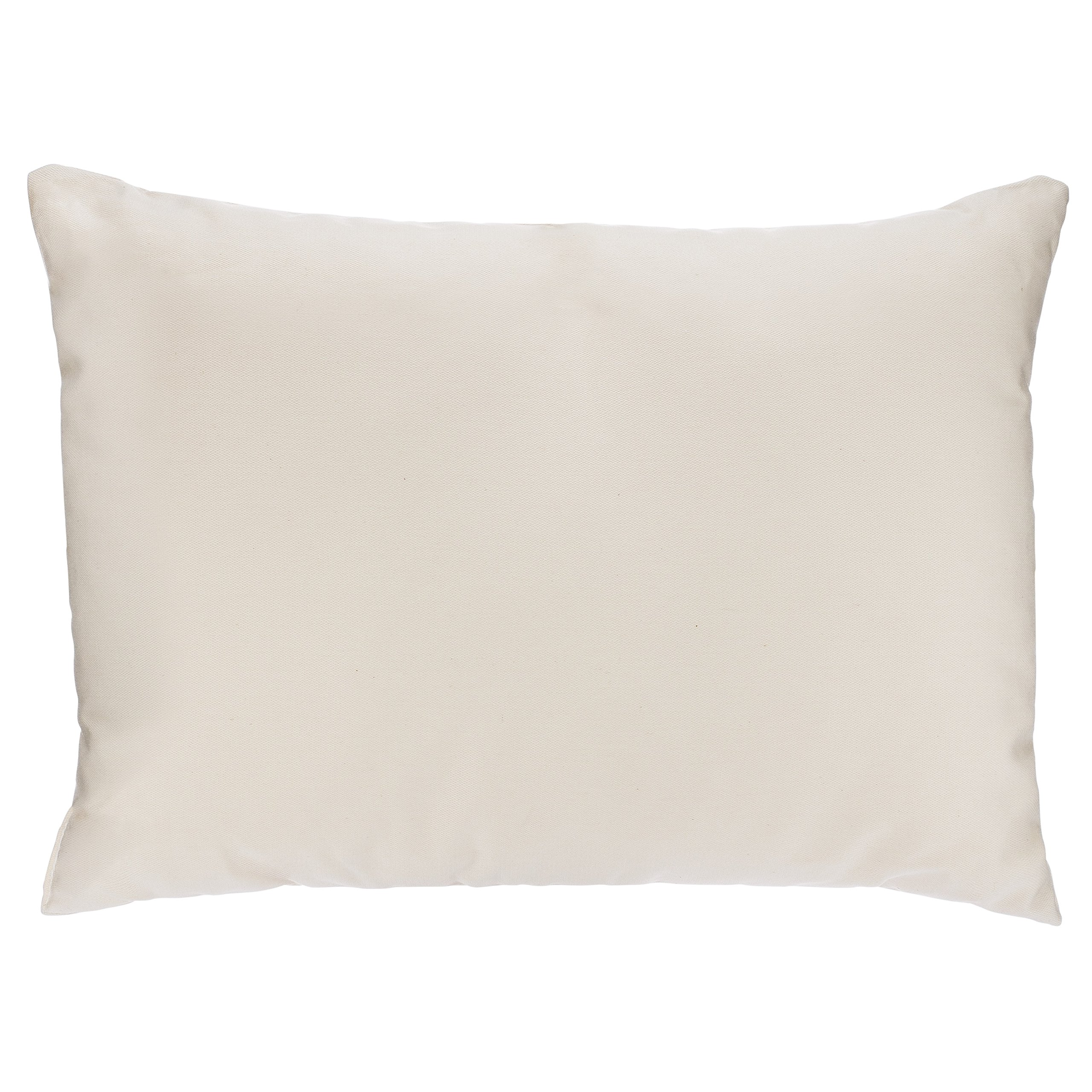 Adovely Toddler Pillow, Organic Cotton, Down Like Fill, Ivory, 13 X 18