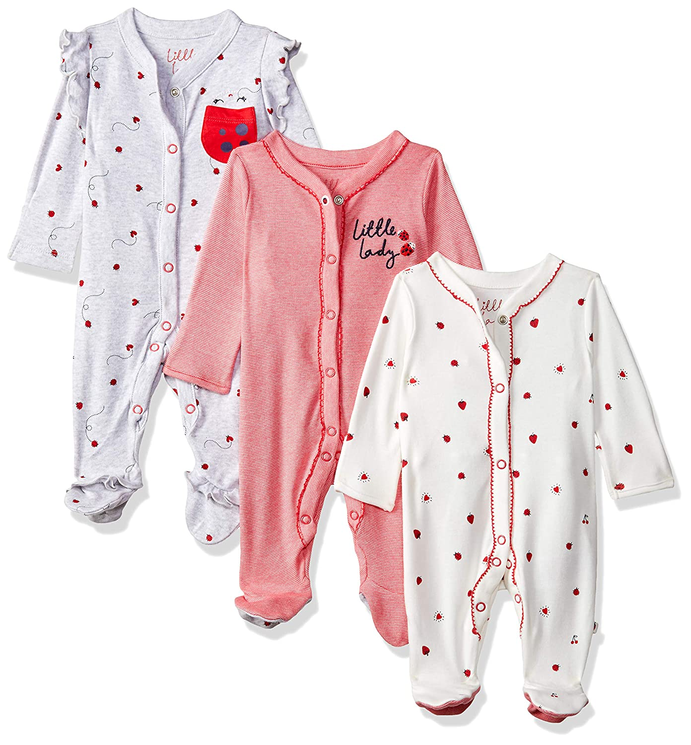 Care Baby Girls Sleepsuit 2-Pack