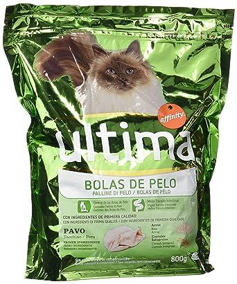 Ultima Cat - Control Bolas De Pelo Pavo 800 g