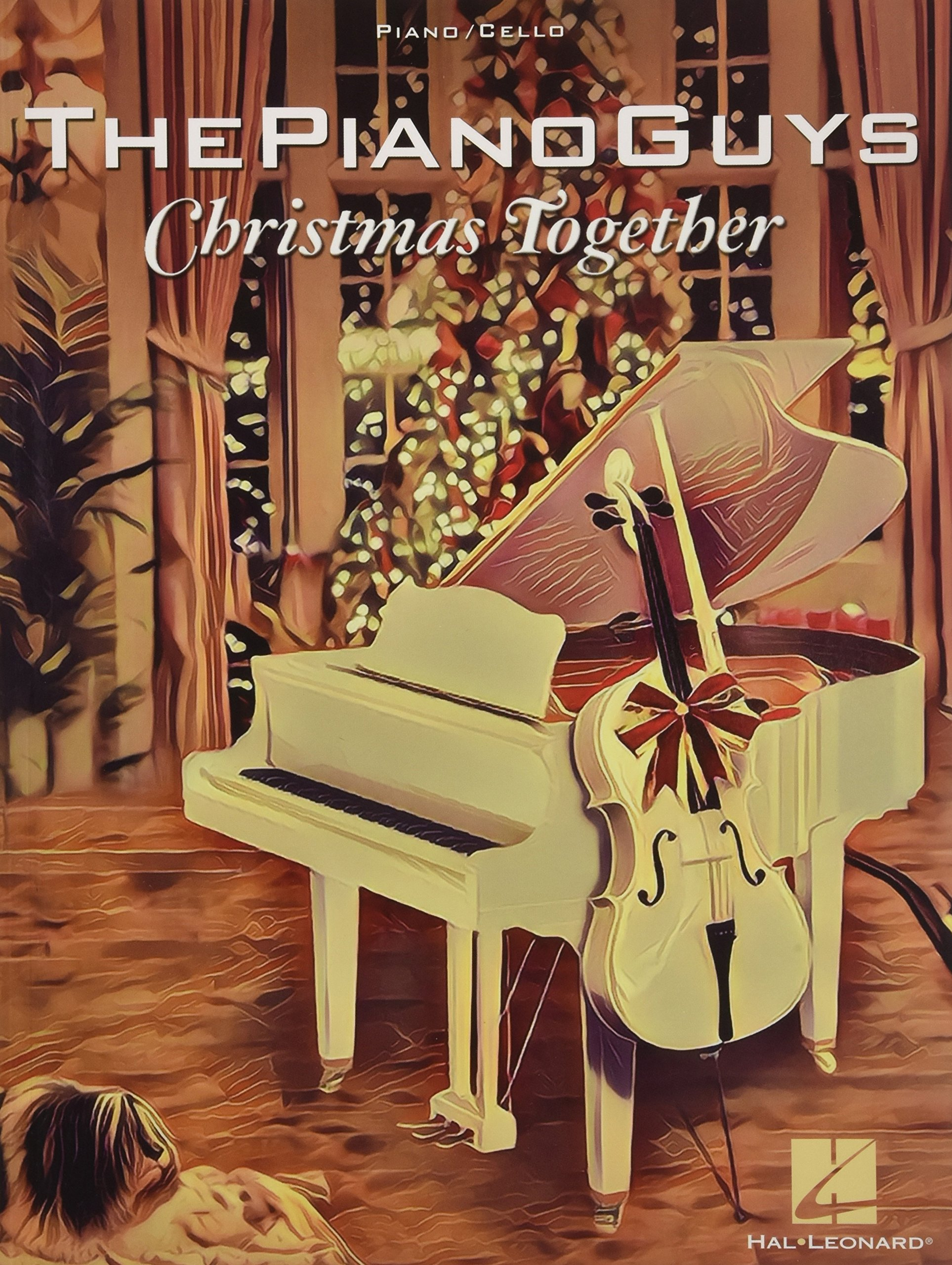 amazoncom the piano guys christmas together piano solo with optional cello 0888680719814 the piano guys books