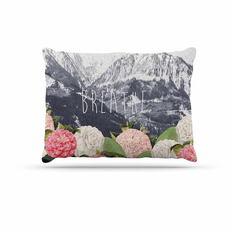 KESS InHouse Suzanne Carter Breathe Floral Landscape Dog Bed, 30  x 40