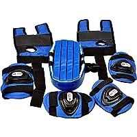 Henco PU Pulsar Skating Guard Set (Blue, Pack of 7)