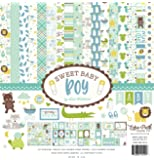 Echo Park Paper Company Sweet Baby Boy Collection Kit