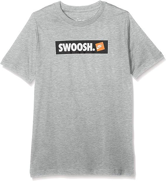 NIKE B NSW tee Swoosh Sticker Camiseta de Manga Corta Niños