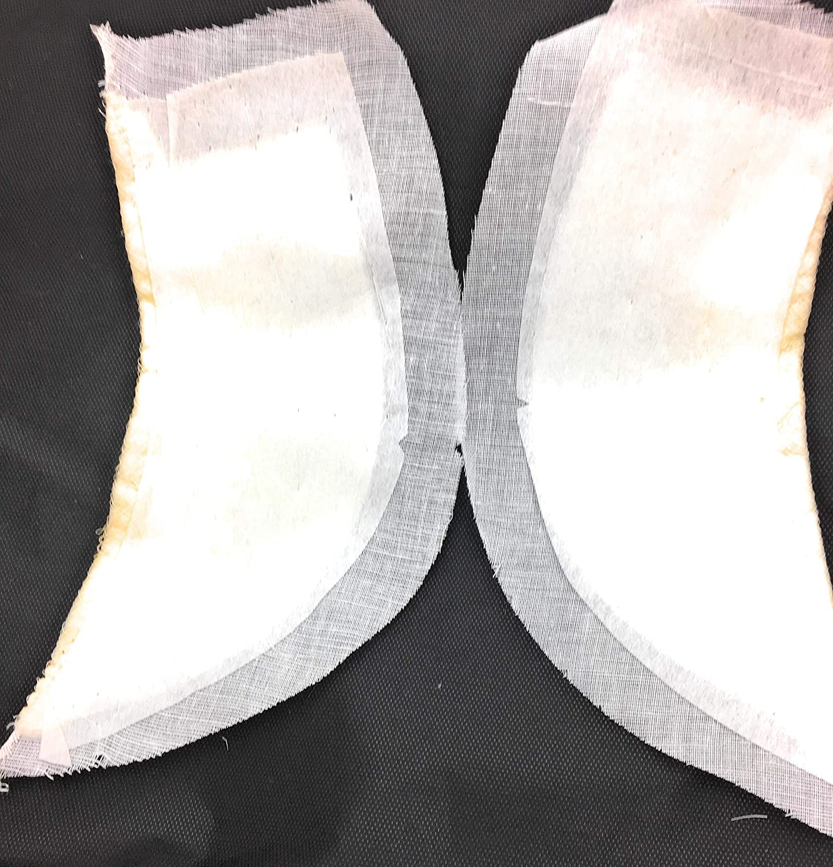 KATZTRIMS TRIMS UNLIMITED 2 Pairs Constructed Raglan Center Flap Shoulder Pads