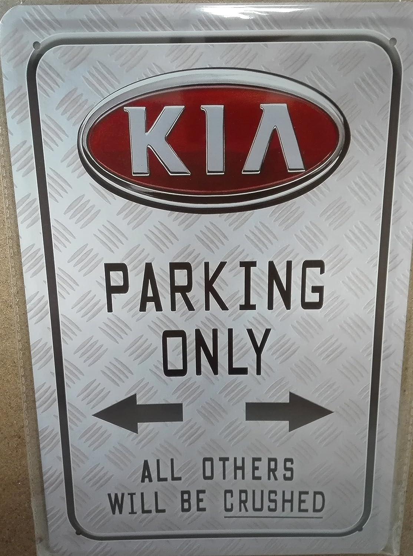 Kia Parking Only Car Auto 20x30 cm Blechschild 838