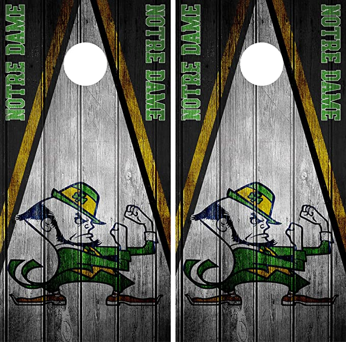 SINGLE Delaware Blue Hens Cornhole Wrap Skin Decal Vinyl NCAA Team Logo DT352