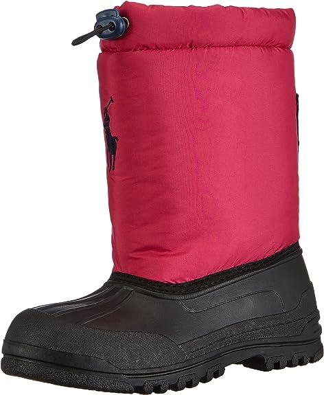 Polo Ralph Lauren Vale, Botas de Nieve para Niñas, Rosa-Pink ...