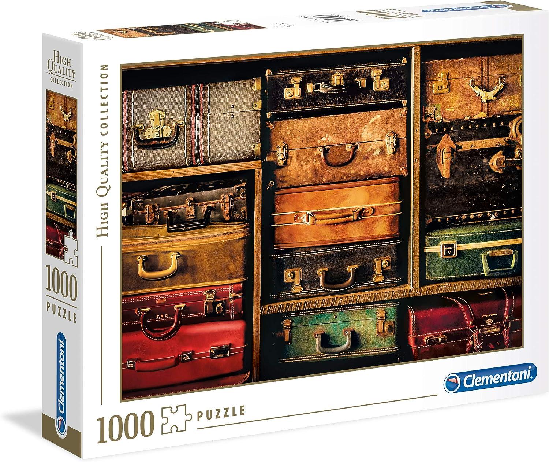 Clementoni- Puzzle 1000 Piezas Travel (39423.4)