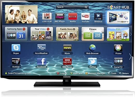 Samsung UE40EH5300 - Televisión Smart, LED de 40 pulgadas, Full HD, color negro: Amazon.es: Electrónica