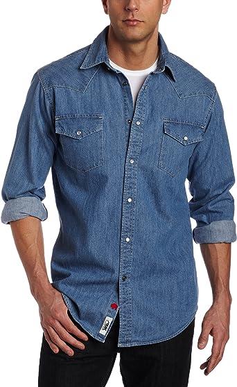 Mountain Khakis Mens Original Mountain Denim Shirt