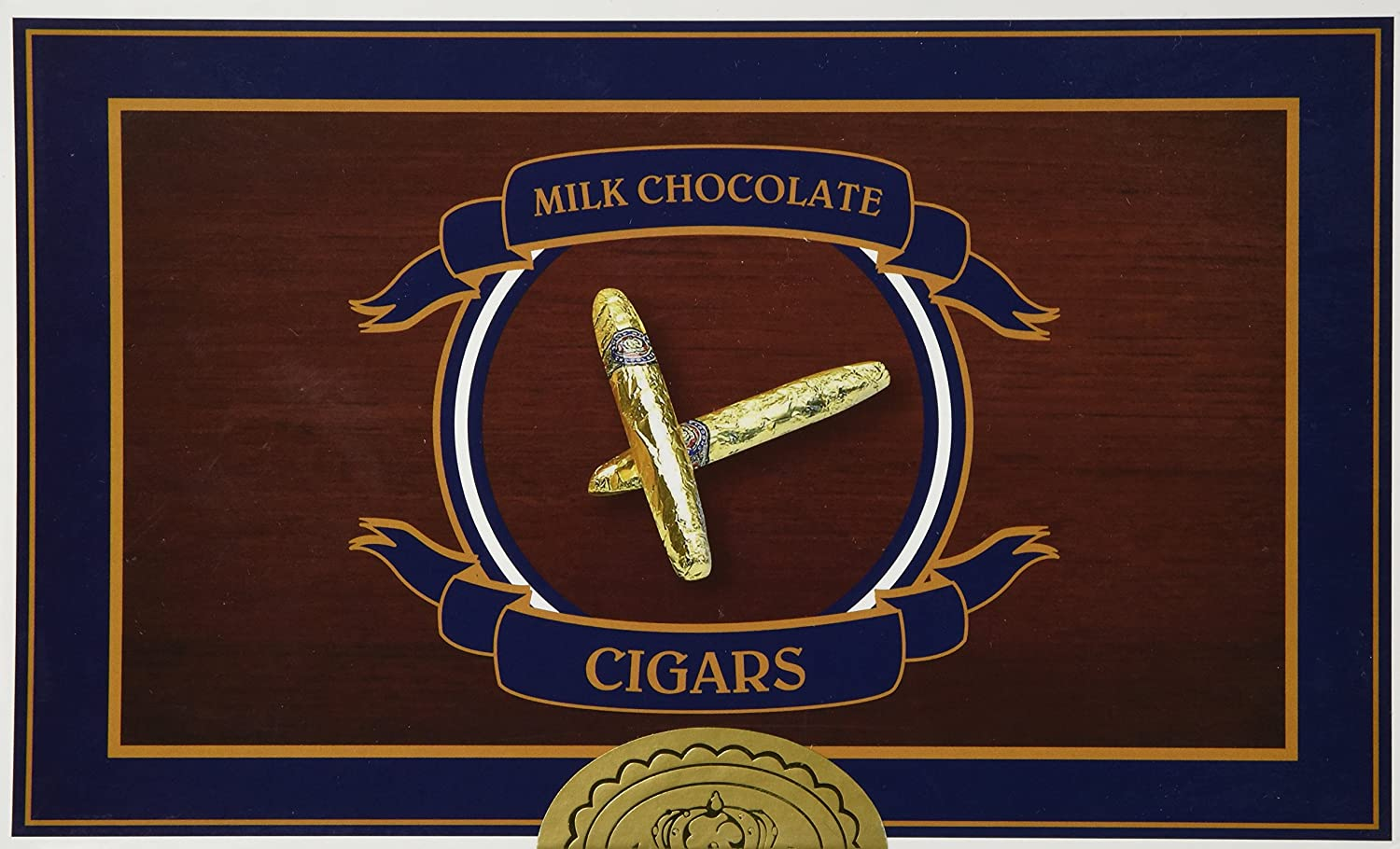 Amazon.com : Chocolate Cigars - Gold, 24 count : Chocolate Candy ...