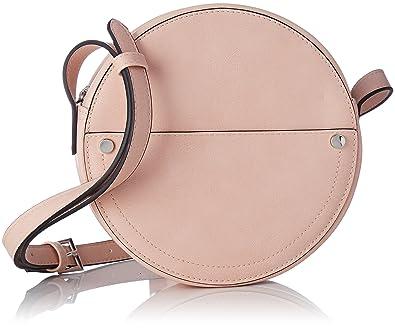 bas prix 8fd86 a7cbe Pimkie Sac rond bandoulière faux cuir rose pâle Femme