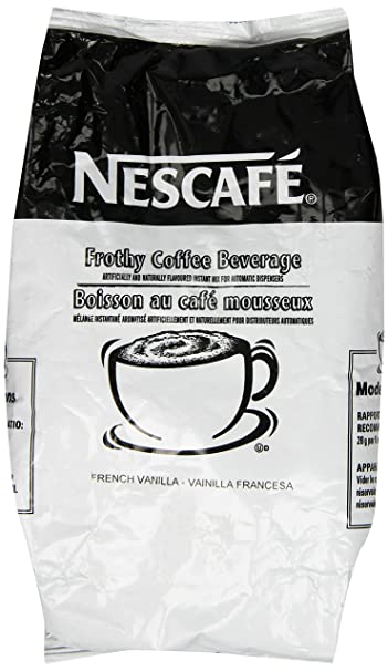 Nescafe Coffee, French Vanilla Cappuccino Mix, 32 Ounce Bag