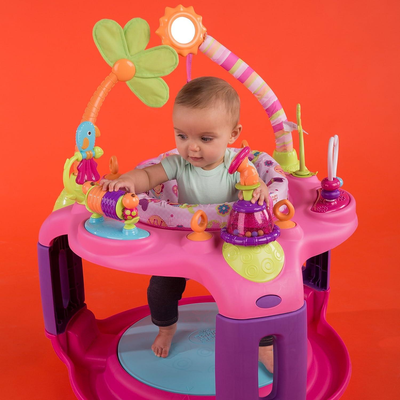 3ed544da75ab Amazon.com   Sweet Safari Bounce-A-Round Entertainer   Stationary ...