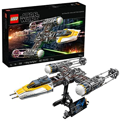 LEGO Star Wars Y-Wing Starfighter 75181 Building Kit (1967 Pieces): Toys & Games
