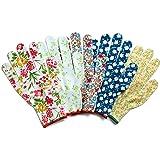 カラフル オシャレ 作業手袋 ワーキング グローブ 5双組 F9049