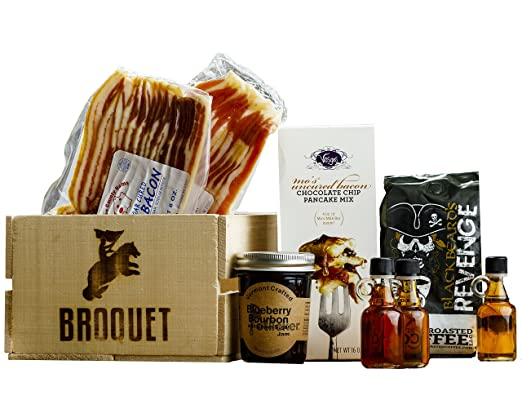 Manly Breakfast Essentials Gift Crate