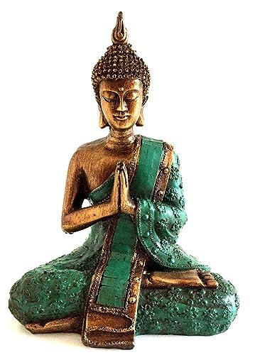 OMA Thai Buddha Meditation Prayer Buddha Statue Bronze Finish – 8