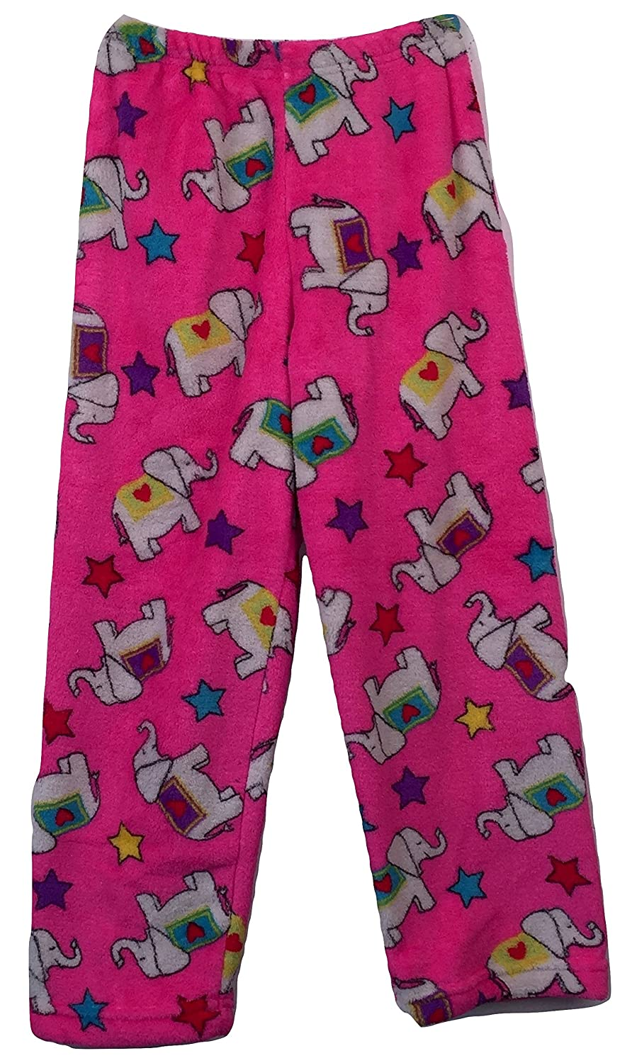 Made with Love and Kisses Boys & Girls Super Soft, Super Cozy Novelty Print Plush Pants